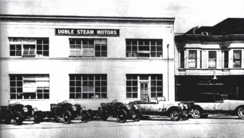 Doble Steam Motor factory in Emeryville