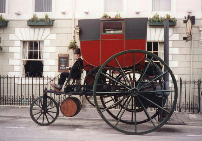 1802 trevithick steam carriage for Car carriage