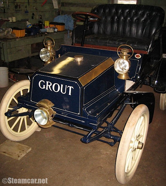 1904 Grout Steam Car