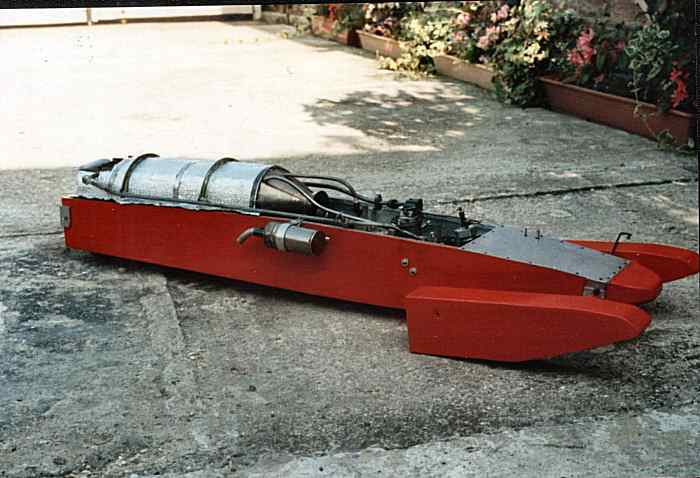Nice Tethered hydroplane plans   Arro