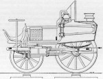 Gurney's 1829 pattern steam drag or light tractor as used by Sir Charles 		Dance on the Cheltenham - Gloucester service