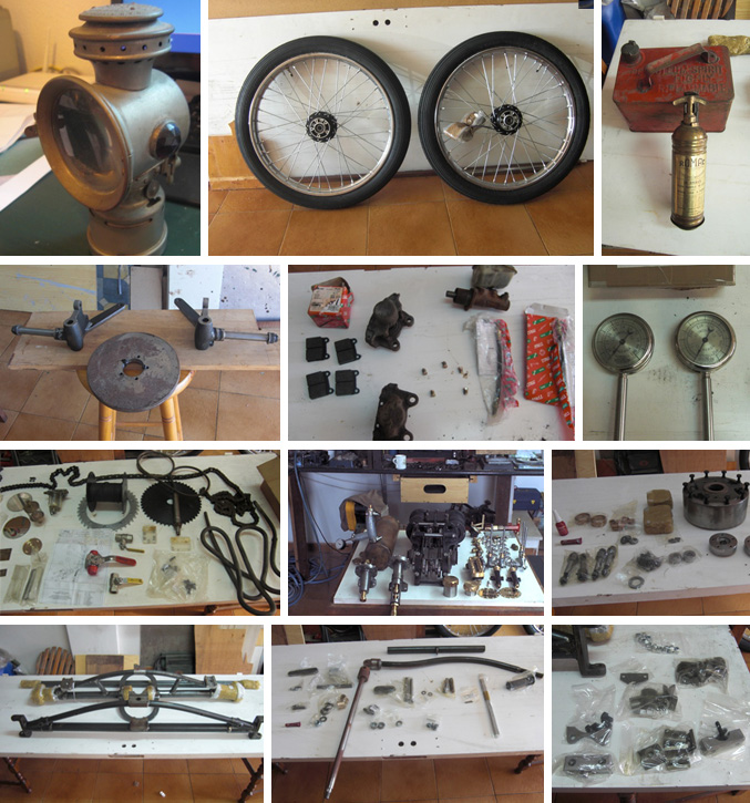 Locomobile parts for Sale